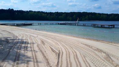 Heute haben wir zwar keinen Sommer, dafür aber 200 Tonnen Sand bekommen