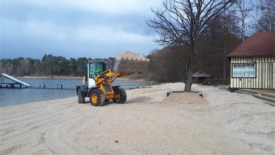 Photo of Wir haben da mal 330 Tonnen Sand für Euch geholt